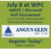IAMCP / Microsoft WPC 2012 Golf Tournament and Charity Fundraiser