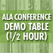 ALA Annual Conference - Demo Table Rental (First come, first served)