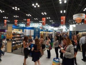 The IBPA Cooperative Booth was busy throughout BookExpo/BookCon 2015.