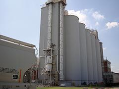 Kellogg Grain Storage Silos