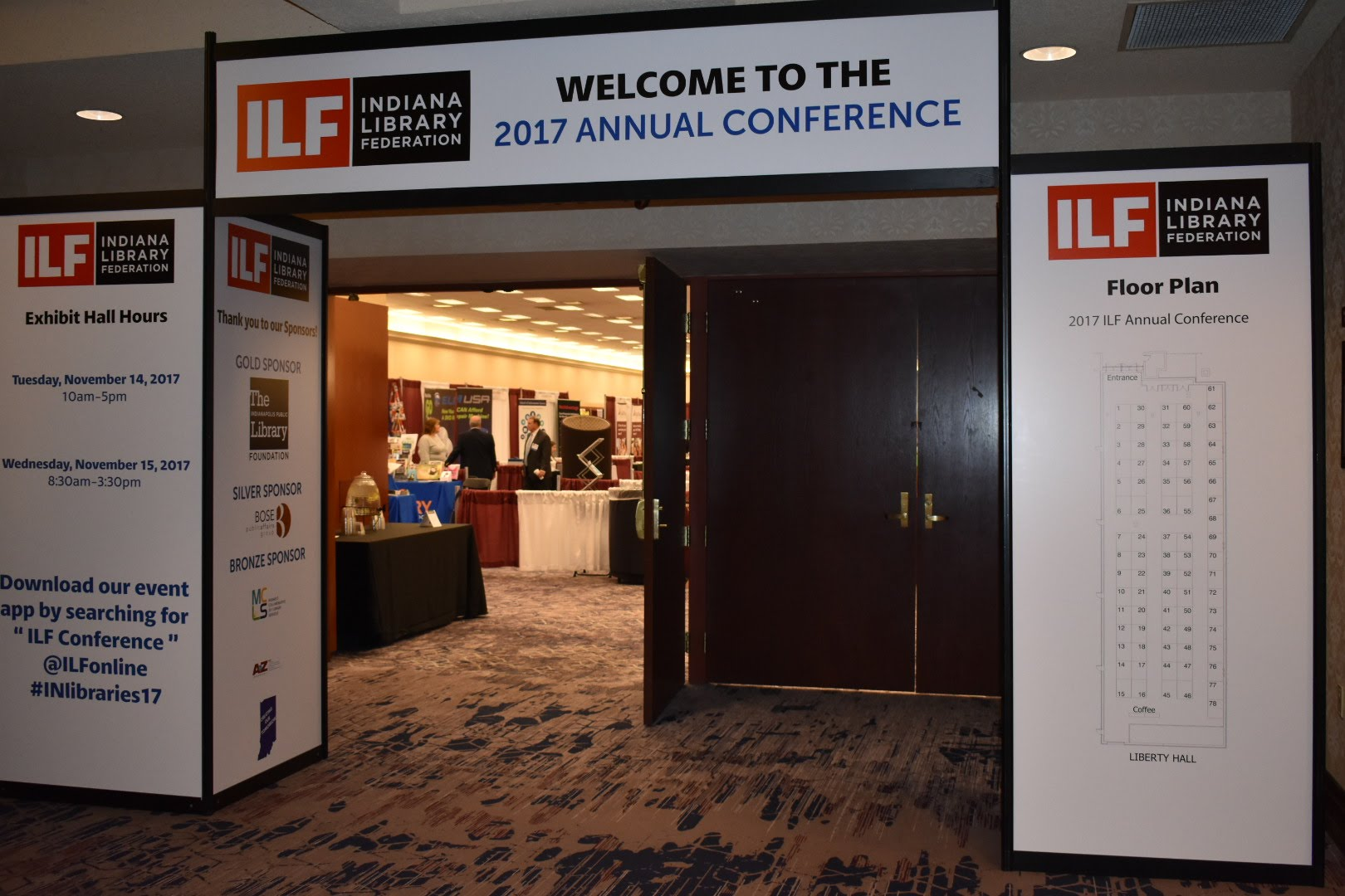 2017 conference exhibit hall