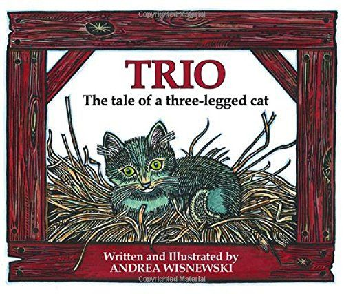 Trio: The Tale of  a Three-Legged Cat book cover