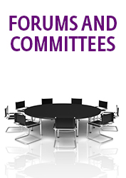 Forums and Committees