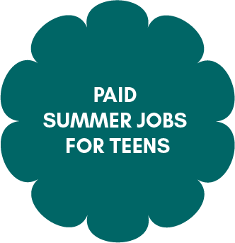 paid summer job for teens
