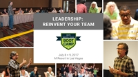 Pre-IPIC Boot Camp: LEADERSHIP: REINVENT YOUR TEAM