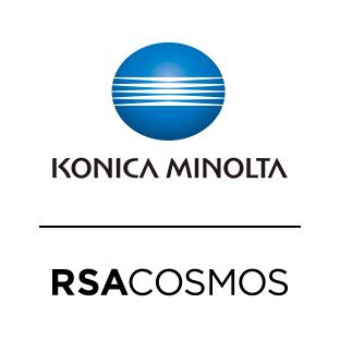 RSA Cosmos, Minolta logo