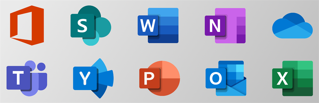 Microsoft Office Icons