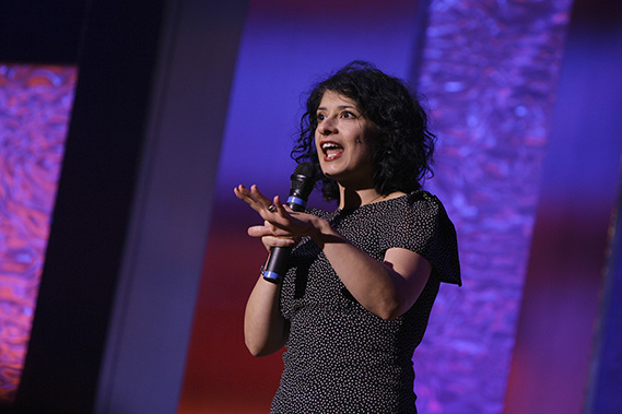 Awards Ceremony Hosted by Shappi Khorsandi