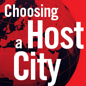 Choosing a Host City