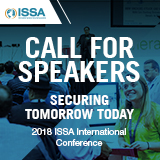 2018 ISSA International Conference Call for Speakers
