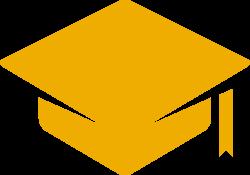 Graducation cap icon