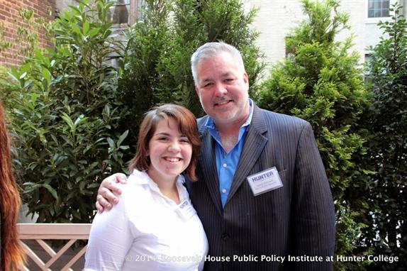 Chabely Ignacio and Sasha Powell, SUNY Binghamton