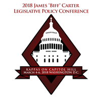"Kappas On Capitol Hill - The 2018 James ""Biff"" Carter Legislative Policy Conference"