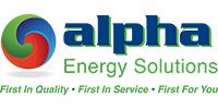 alpha energy solutions Logo