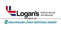 Logan's Linen and Uniform Services Logo
