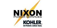 Nixon Power Services / Kohler Logo