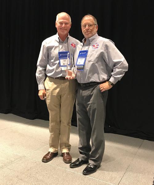 James Mason Award presented to Joe Taylor in 2018