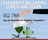 Lunch and Learn - SQ 788: Up in Smoke or High-ly Popular?