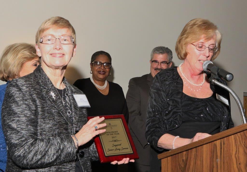Sagepoint receives nonprofit of the year award