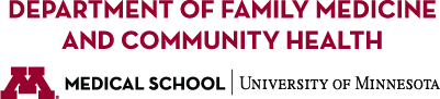 University of Minnesota Medical School, Department of Family Medicine & Community Health