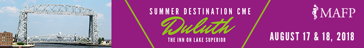 MAFP 2018 Destination CME | August 17 & 18, 2018 | The Inn on Lake Superior