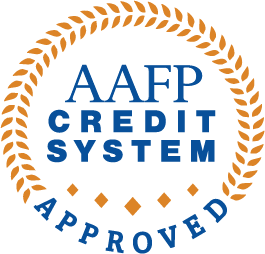 AAFP Credit System Approved