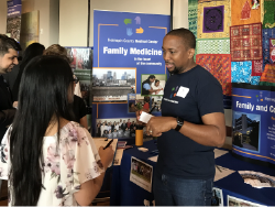 faculty and students at the 2017 Family Medicine Resident Experience