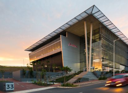 Supreme Award Winner: Excellence in Construction, WBHO Construction (Pty) Ltd, KwaZulu-Natal, ABSA Regional Office KwaZulu-Natal.