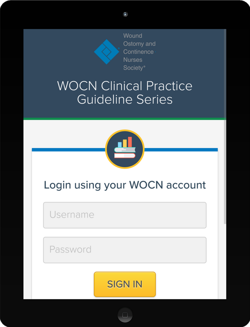 WOCN Clinical Practice Guideline Series-Mobile Version