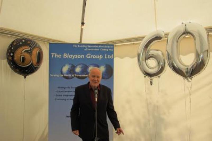 Blayson celebrates 60th Anniversary