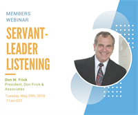 Servant-Leader Listening with Don Frick