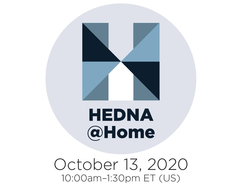 HEDNA@Home– October 13, 2020