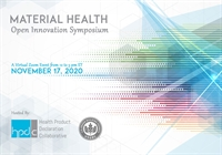 SAVE THE DATE: Material Health and Open Innovation Symposium