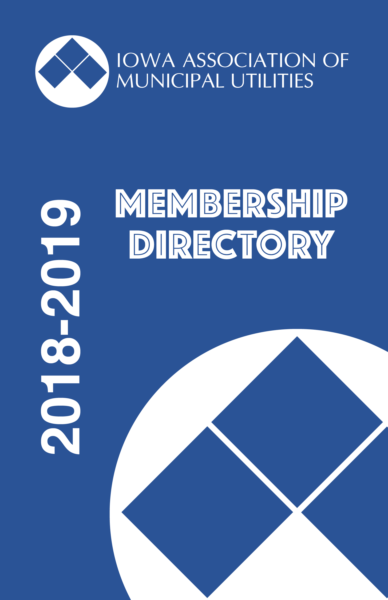 428893551 The 2018-2019 IAMU Membership Directories have been mailed. All utility