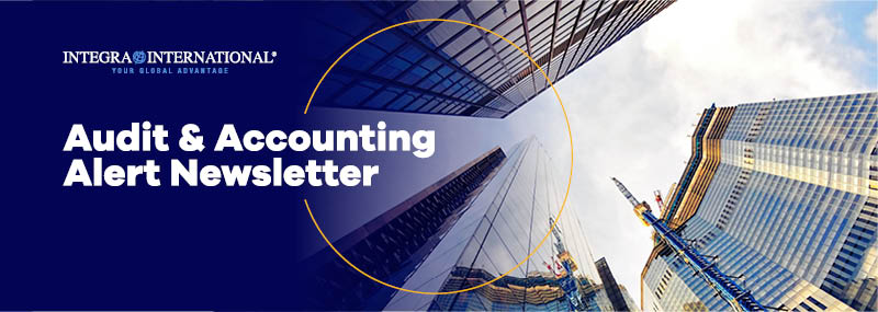 Integra International - Audit & Accounting Alert