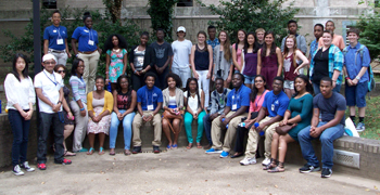 NMEA youth conference participants