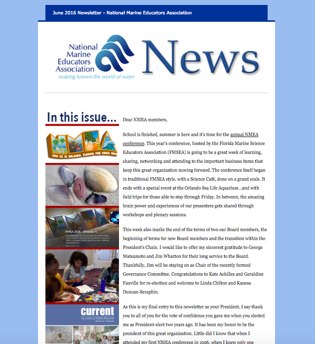 2016 Summer newsletter