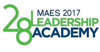 2017 MAES Leadership Academy - Student Registration