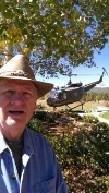 VIETNAM HELICOPTER PILOT BOB CRAIN JR ON VACATION