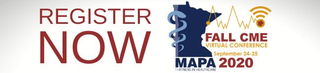 Participate in the MAPA 2020 Fall CME Virtual Conference