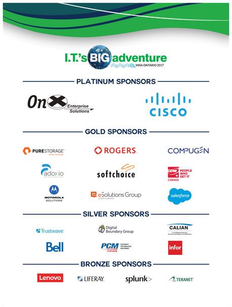 2017 MISA Ontario Annual Conference Sponsors