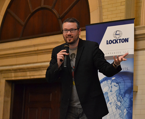 Keynote opening speaker Jason Kotecki