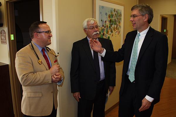 Congressman Paulsen, Matt Gall, Dean Gesme