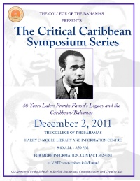The Critical Caribbean Symposium