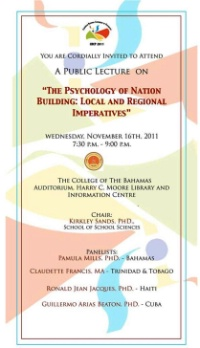 The Psychology of Nation Building