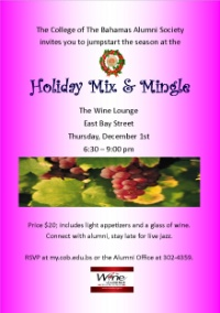 Holiday Mix & Mingle