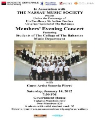 Nassau Music Society featuring COB