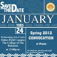 Spring 2012 Convocation of Praise