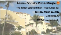 Alumni Society Mix & Mingle - Colonial Hilton