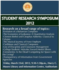 2012 Student Research Symposium